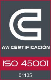 Marca_AW CERTIFICACION (ISO 45001)