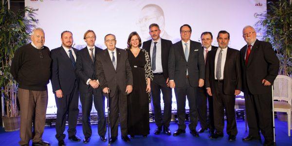 Nuicon en la gala de de premios Alfonso Vàzquez